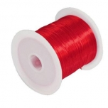Elastiktamiil 0,6mm 10m punane