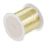 Elastiktamiil 0,6mm 10m kuldne (kollane)