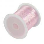 Elastiktamiil 0,6mm 10m roosa