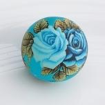 Tensha 16mm matt sinine helmes roosidega