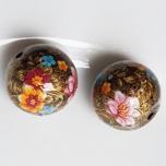 Tensha 16mm pronksjas helmes  lilledega