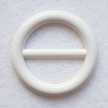 Pannal plast 5 cm valge