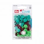 Plastmassist trukid Love roheline-pruun