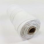 Puuvillane nöör nr 16  1,5mm 100g  110m lumivalge
