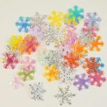 Lumehelbed sädelevast paberist u 50tk