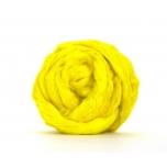 Tussah siidikiud kollane