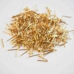 Nööpnõelad 13mm kuldsed