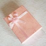 Kinkekarp roosa 9*7*3 cm