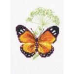 """Tikkimiskomplekt """"Köömen ja liblikas"""" 8,5*9,5 cm"""