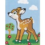 "Ristpistes tikkimispilt ""Bambi""  20*25cm 3017"