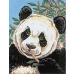 "Ristpistes tikkimispilt ""Panda""  20*25cm 3088"