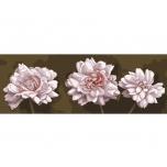 """Ristpistes suur tikkimispilt """"Valged lilled""""  35*80cm 9006"""