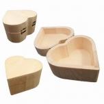 Puidust karp süda 10cm