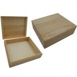 Puidust karp kaanega 16,5*13,8*5cm