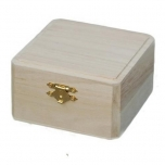 Puidust karp 10,5*10,5*6 cm